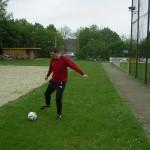 Martin Rüter ist nach zweimonatiger Verletzungspause endlich wieder am Ball,