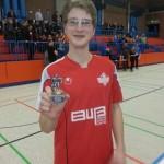 Spieler des Turniers Tom Dreyer