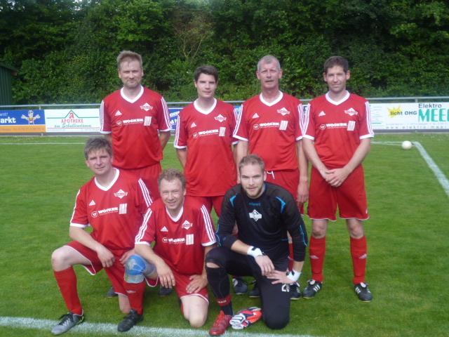 Siegerteam der Alten Heren